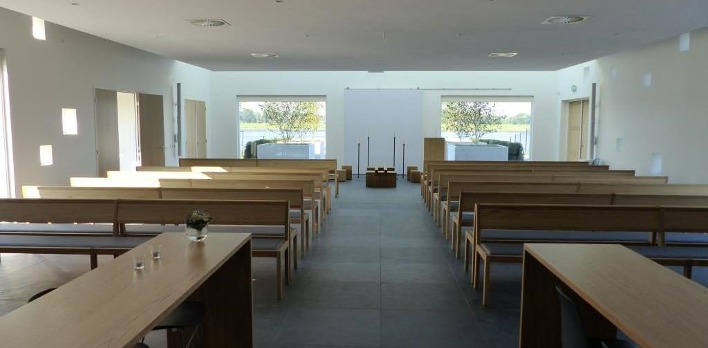 Crematorium aula Brielle
